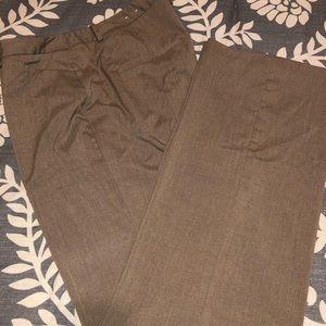 Ladies dress slacks - dark tan/camel color